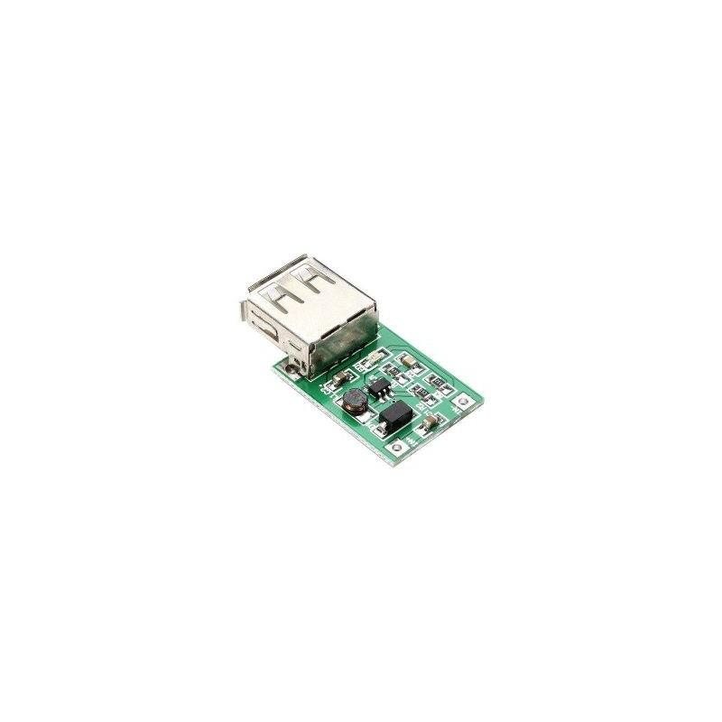 Modul de alimentare ridicator de tensiune (step-up) 0.9V-5V iesire 5V USB, max 600mA