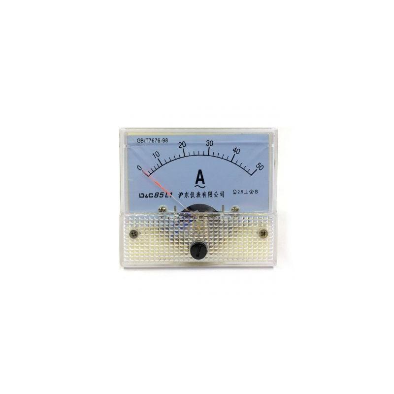 Ampermetru analogic de panou 50A curent alternativ
