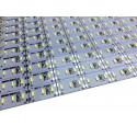 Banda led HARD STRIP led 4014 alb rece, aluminiu, 144 LED/m, alimentare 12V