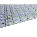 Banda led HARD STRIP led 4014 alb cald,  aluminiu, 144 LED/m, alimentare 12V