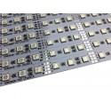 Banda led HARD STRIP led 5050 RGB, aluminiu, 72 LED/m