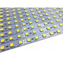 Banda led HARD STRIP led 5054 alb cald,  aluminiu, 72LED/m, alimentare 12V