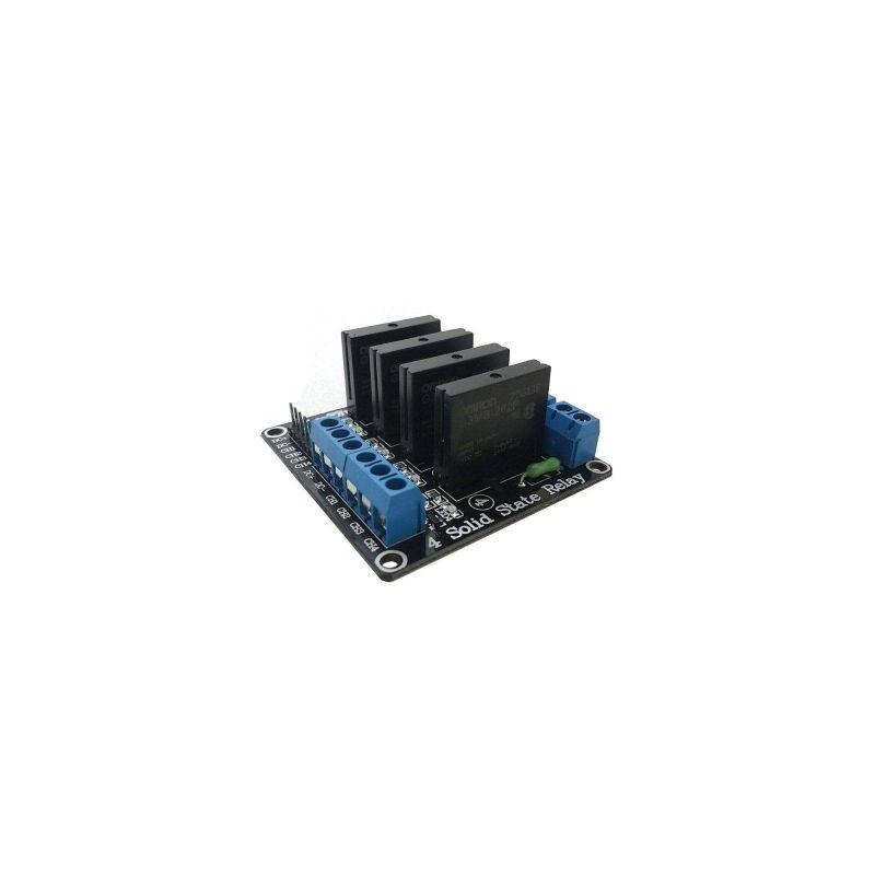 Modul cu 2 relee Solid State, Ucomanda-5V, max.2A-250VAC