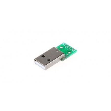 Placuta prototip cu USB tata DIP