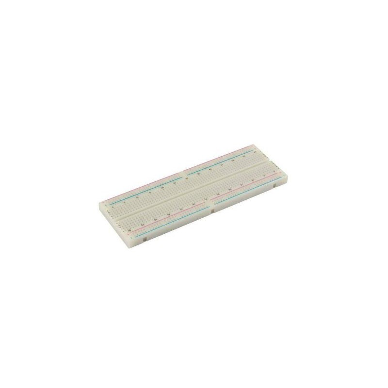 Placa de test Breadboard, 830 puncte165x54x9mm PVC830