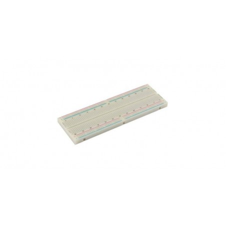 Placa de test Breadboard, 830 puncte 165x54x9mm PVC830