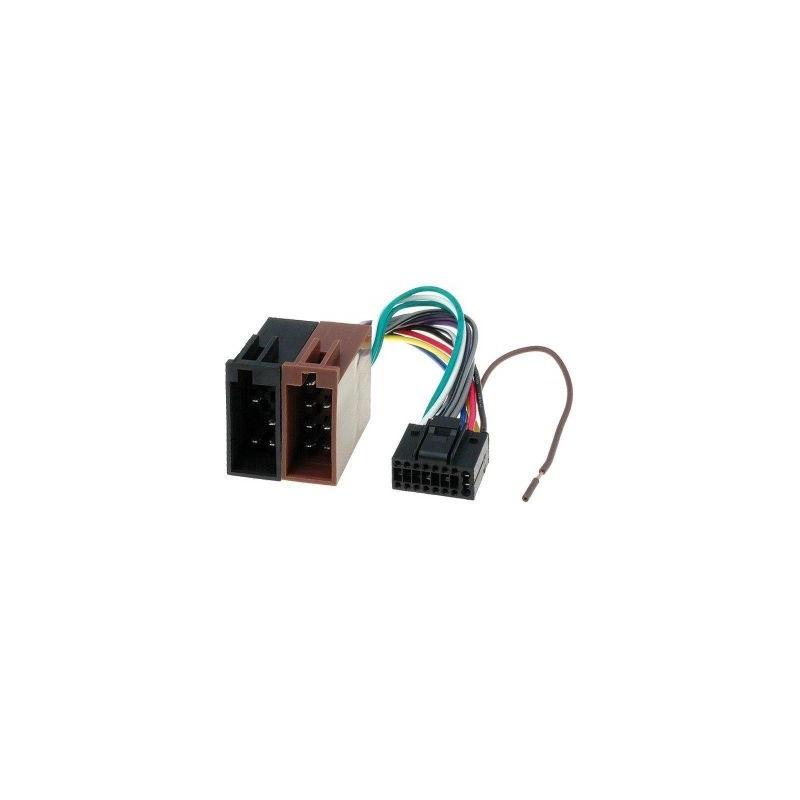 Conector ISO KENWOOD, ZRS-45, 16 pinI