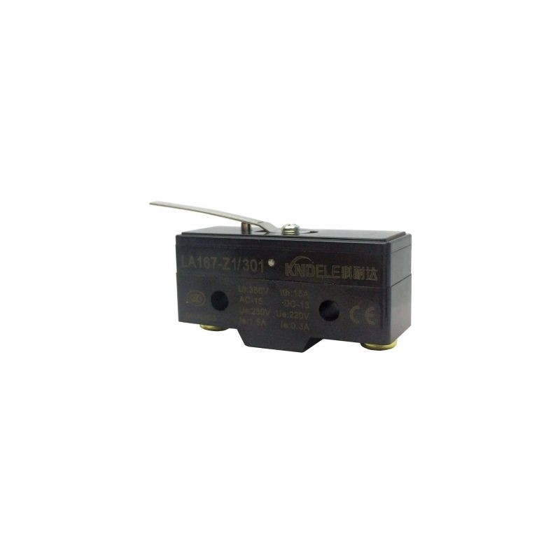 Comutator limitator cu push button si lamela Kenaida
