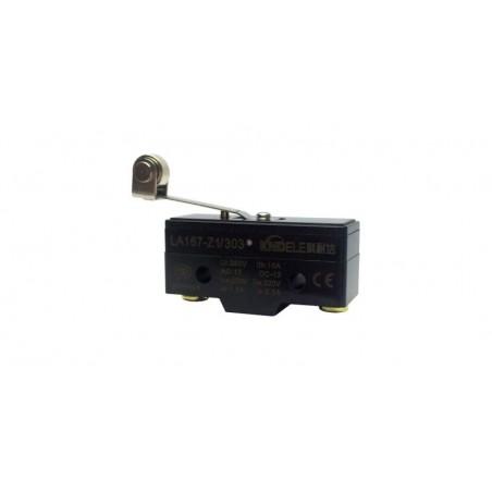 Comutator limitator cu push button, lamela si rola Kenaida LA167-Z1/303