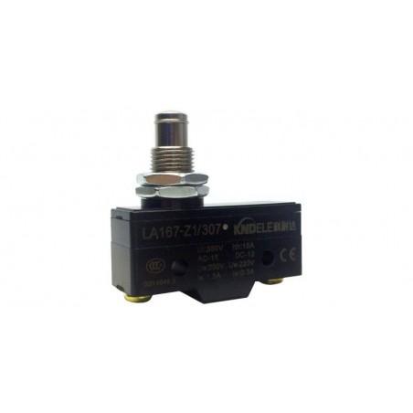 Comutator limitator cu push button fara retinere 25mm inaltime Kenaida LA167-Z1/307