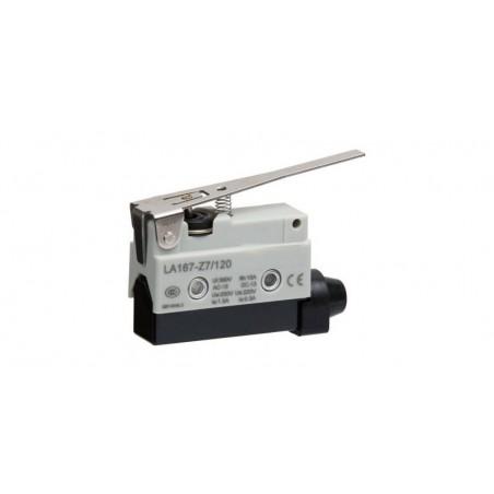 Comutator limitator de cursa cu lamela lunga 80mm lungime Kenaida LA167-Z7/120