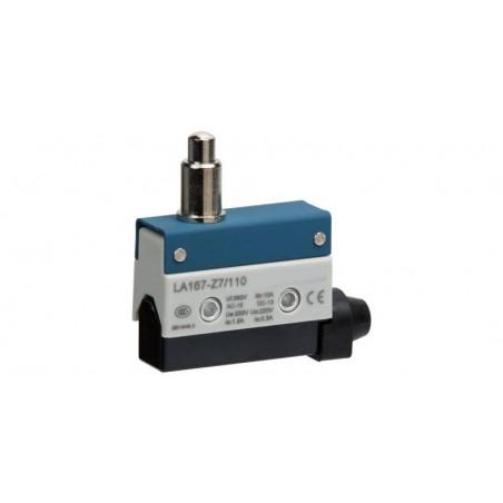 Comutator limitator cu push button fara retinere 24mm inaltime Kenaida LA167-Z7/110
