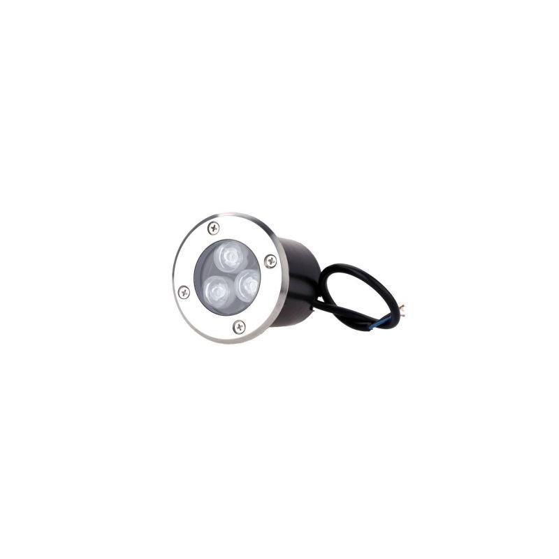 Spot incastrabil LED, 3W, alb cald, 220V