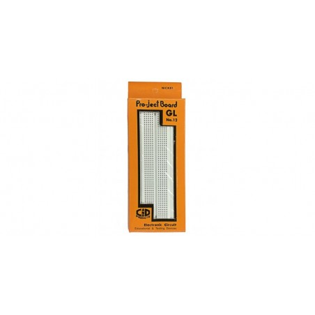 Placa test Breadboard 175x67x8mm, (GL-12)