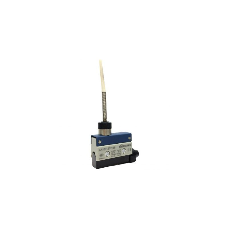 Comutator limitator cu push button fara retinere 24mm inaltime Kenaida LA167-Z7/310