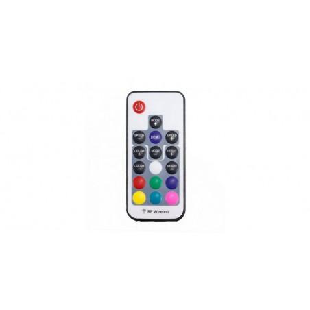 Controller RGB RF 17 taste, USB, curent maxim 3x4A, 5V
