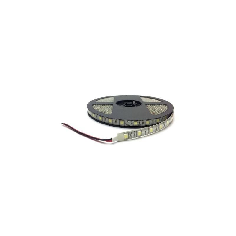 Banda LED 5050 Alb Rece 24V, 60 LED/m, IP65 (WP)