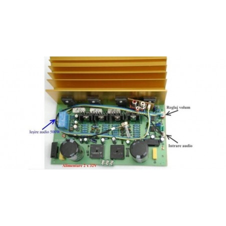 Kit amplificator audio mono SUB.500W