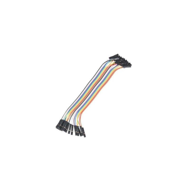 Cablu cu conectori tata-tata, 40 fire colorate