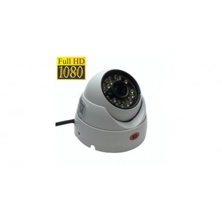Camera de supraveghere dome FullHD AHD/HDTVI/HDCVI/Analog, Senzor Sony 2.0MP, IR 20m (24 LED), Lentila 3.6mm