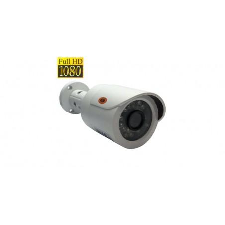 Camera de supraveghere bullet FullHD AHD/HDTVI/HDCVI/Analog, Senzor Sony 2.0MP, IR 20m (24 LED), Lentila 3.6mm