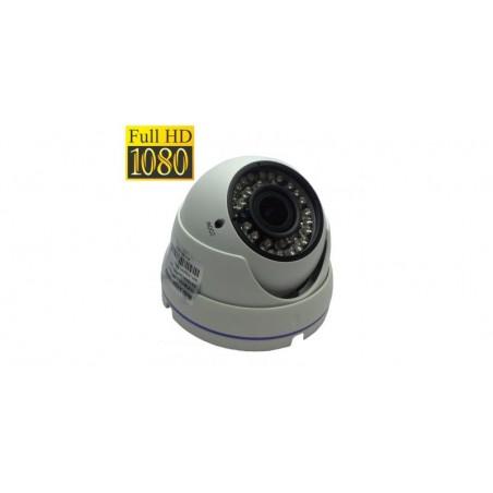 Camera de supraveghere dome FullHD AHD/HDTVI/HDCVI, Senzor Sony 2.0MP,IR 30m (36 LED), Lentila varifocala 2.8-12mm