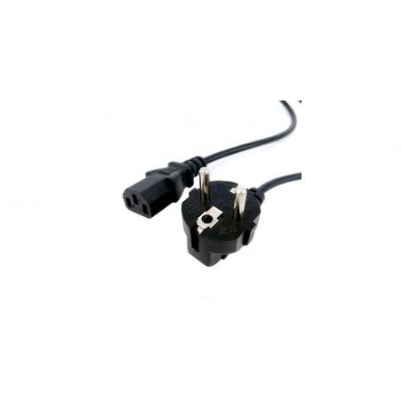 Cablu alimentare in unghi 220V, lungime 1.8m