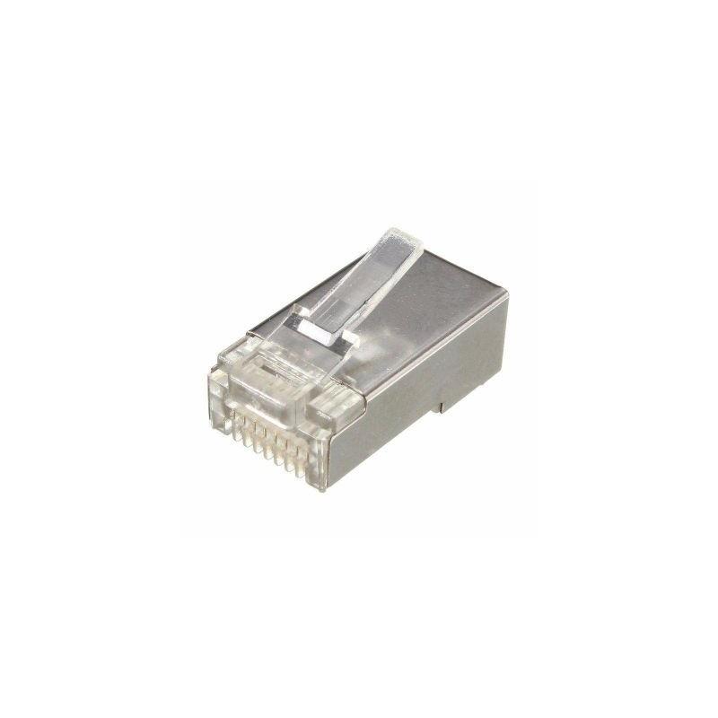 Mufa RJ45 UTP/ FTP, 8 pini, cu ecranaj metalic