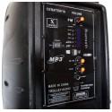 Boxă audio MP3 portabilă cu amplificator și microfon wireless J-712