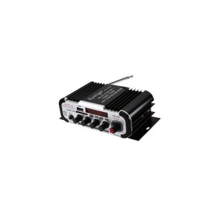 Amplificator audio HY-600 cu radio FM, USB, microSD