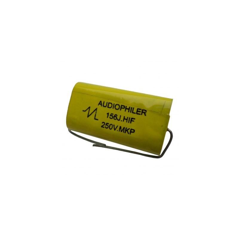 Condensator audio Audiophiler MKP galben15uf/250V
