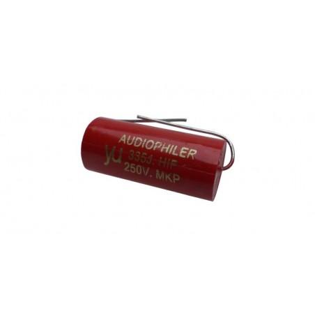 Condensator audio Audiophiler MKP rosu 3.3uf/250V