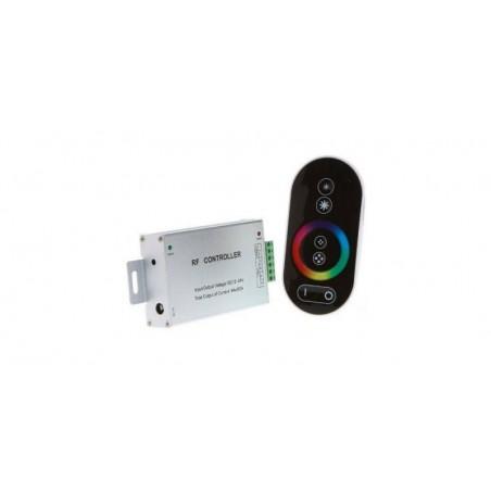 Controler banda led RGB, maxim 18A + Telecomanda touch controller RF, 216/432W(12V/24V)