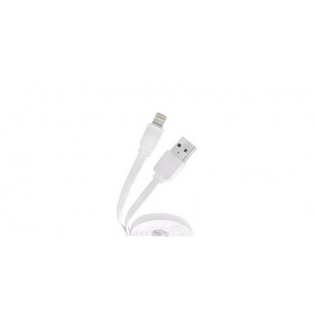 Cablu plat USB-Lightning 2.1A pentru iPhone Konfulon S32 de 1.2m