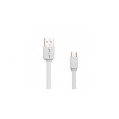 Cablu plat USB-Type-C 2.1A Konfulon S33 de 1.2m