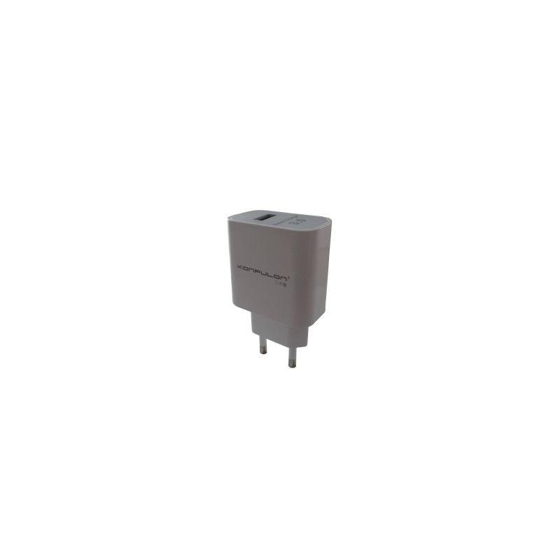 Incarcator Qualcomm Quick Charge 3.0 Konfulon C27 cu 3 nivele de incarcare 5V/9V/12V
