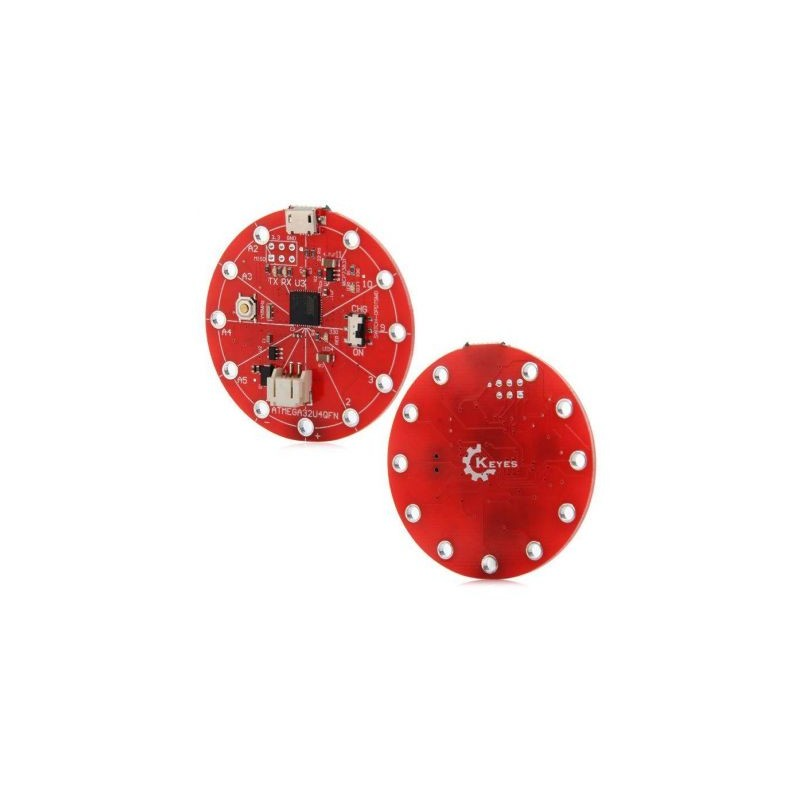 Platforma de dezvoltare ATmega32U4 LilyPad conectare la USB OKY2020