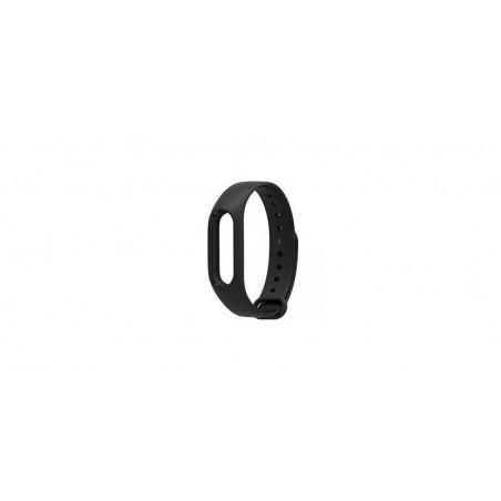 Bratara din silicon de schimb pentru Xiaomi Mi Band 2. Culoare neagra.