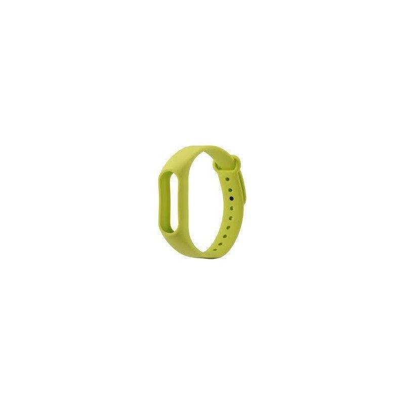 Bratara din silicon de schimb pentru Xiaomi Mi Band 2. Culoare verde.