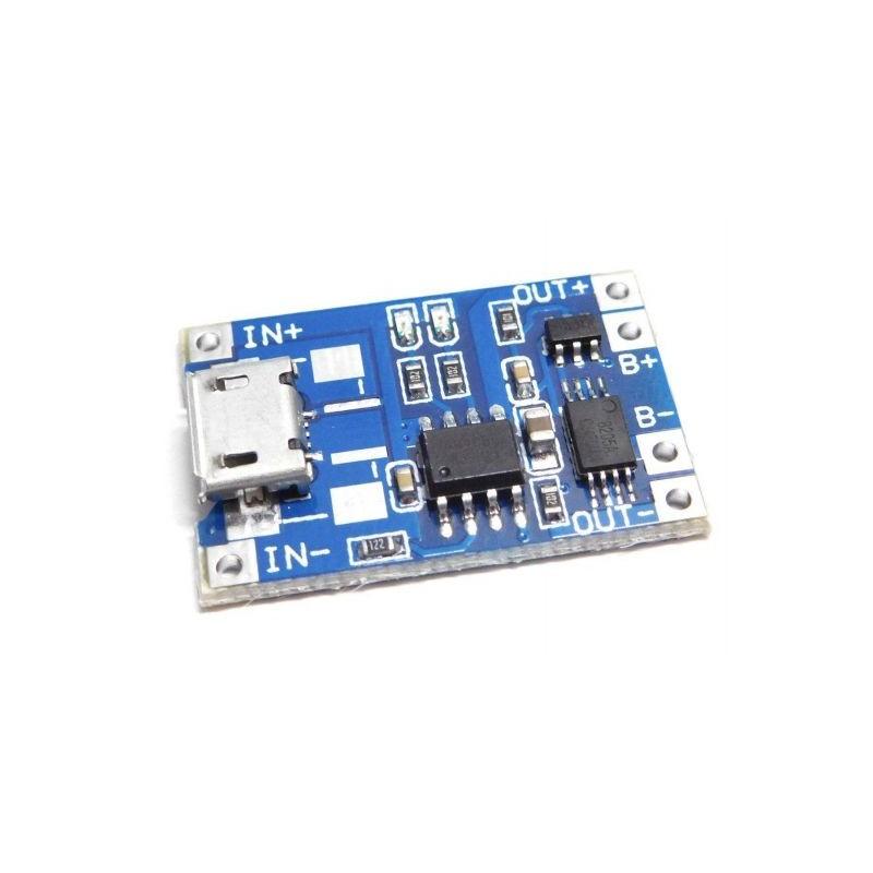 Modul de incarcare baterie Li-PO cu TP4056 miniUSB compatibil Arduino