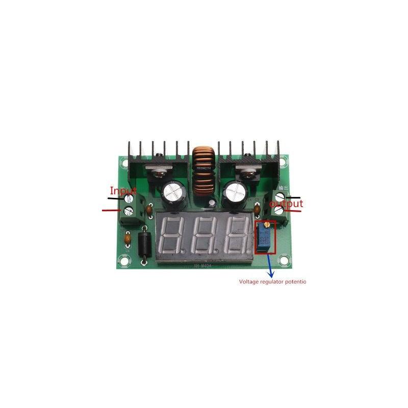 Sursa de alimentare reglabila cu voltmetru compatibila Arduino