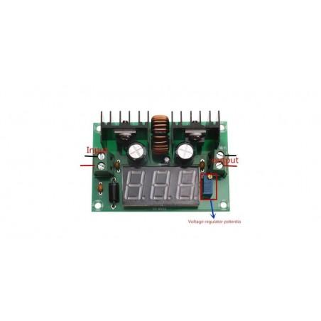 Sursa de alimentare DC-DC Step Down reglabila cu voltmetru compatibila Arduino