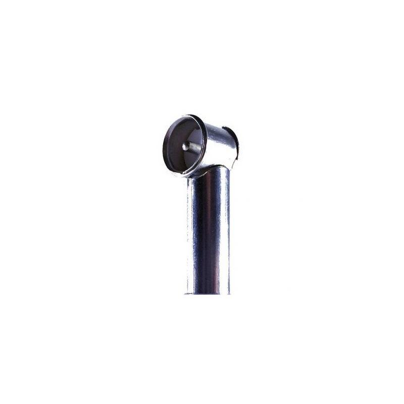 Adaptor antena soclu DIN, mufa ISO in unghi