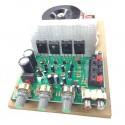 Amplificator audio AC-AMP, 2 x 60W cu traf toroidal