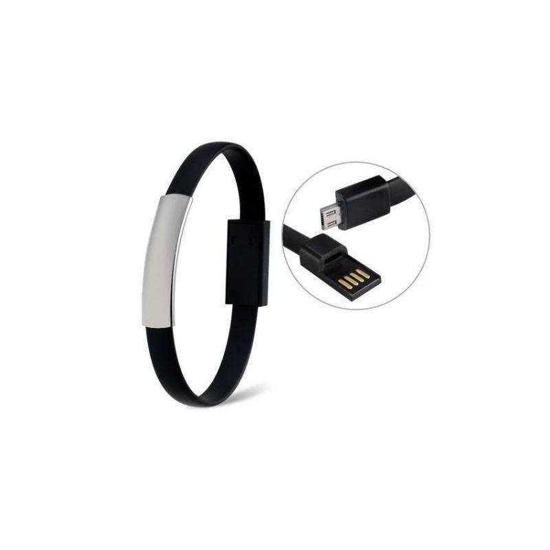 Cablu de date cu USB tip bratara