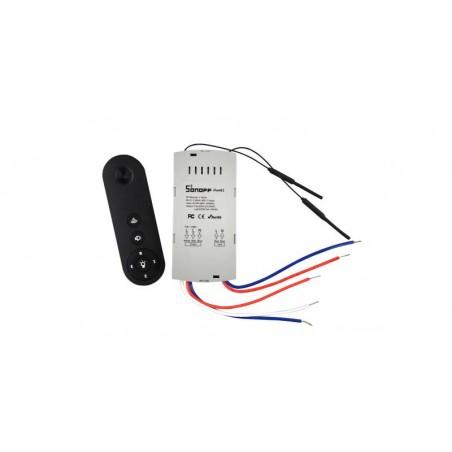 Comanda wireless Sonoff Wi-Fi si RF 433 pentru ventilator de tavan IM170811003