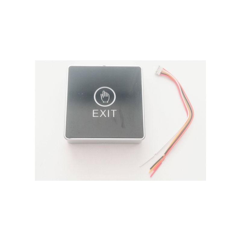 Buton exit plastic ST 86x86mm A6
