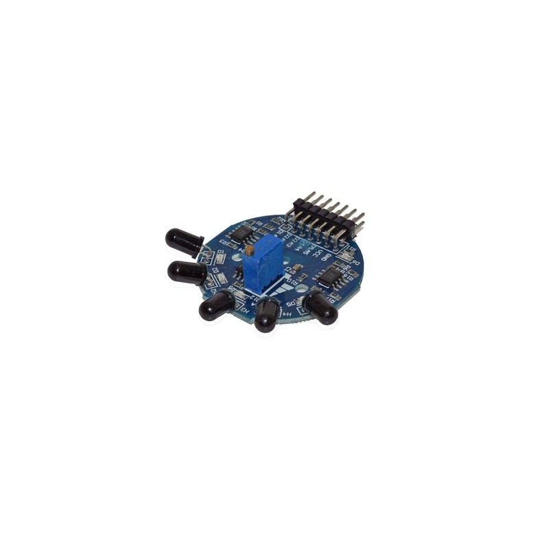Senzor de flacara IR 2 canale digitale compatibil arduino OKY3054