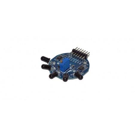 Senzor de flacara IR 5 canale digitale/analogice compatibil arduino OKY3055
