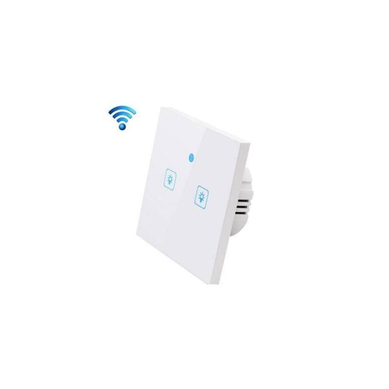 WS-EU-02 Intrerupator tactil WIFI 2 canale
